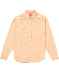 6037317234 Lyst - Larusmiani Cotton Denim Shirt in Blue for Men