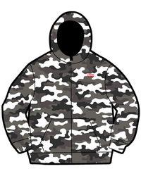 Supreme - Windstopper Zip Up Hooded Sweatshirt - Lyst