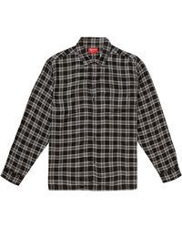 Supreme - Plaid Rayon Shirt - Lyst