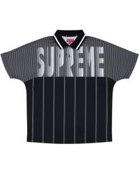 5b866794a9 Men's Supreme Polo shirts On Sale - Lyst