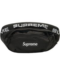 Supreme Waist Bag (ss18) - Black