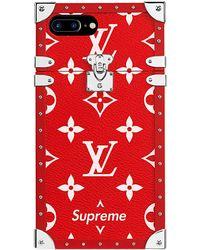 Supreme Louis Vuitton X Iphone 7 Plus Eye Trunk - Red