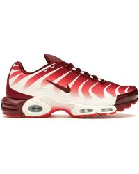 Air Max Plus Tn Se White Team Red speed Red