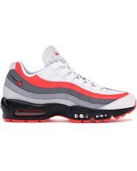 Nike Air Max 95 Running Shoes - White