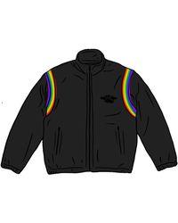 Supreme Hysteric Glamour Velour Track Jacket - ブラック