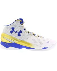 Under Armour Ua Curry 2 Gold Rings - ブルー