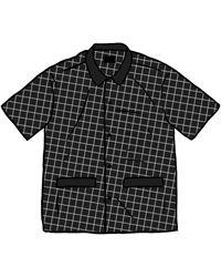 Supreme Satin Pyjama Set - Black