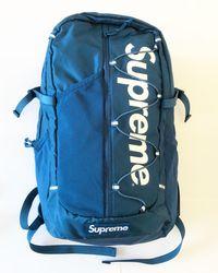 26046d9157a Men's Supreme Backpacks - Lyst