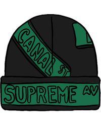Supreme Street Signs Beanie - ブラック