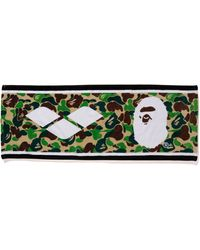 A Bathing Ape X Arena Sports Towel Green
