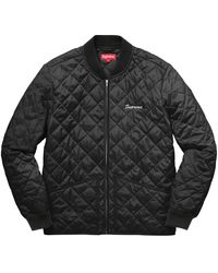 Supreme Zapata Quilted Work Jacket - Black