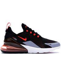 Nike - Air Max 270 Black Bright Crimson - Lyst