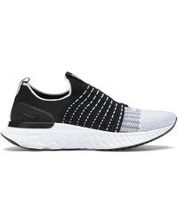 Nike - React Phantom Run Flyknit 2 Black - Lyst