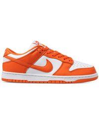 Nike Dunk Low Retro Sneakers - Orange
