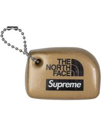 Supreme The North Face Floating Key Chain - Metallic