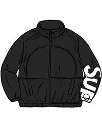 Supreme Spellout Track Jacket - ブラック