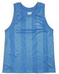 Supreme Mesh Stripe Tank Top - Blue