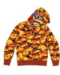 2b01dc5f A Bathing Ape Ultimate Crazy Color Camo Shark Hoodie Red/blue/purple in Blue  for Men - Lyst