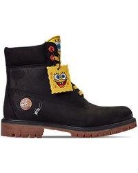 """Timberland 6"""" Spongebob - ブラック"""
