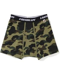 A Bathing Ape 1st Camo Trunks (fw19) Green