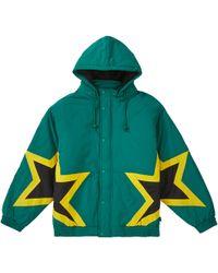 Supreme Stars Puffy Jacket - Green