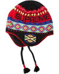 Supreme - Nepali Earflap Beanie - Lyst