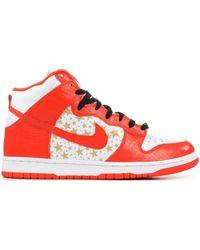 Nike - Sb Dunk High Supreme Orange - Lyst