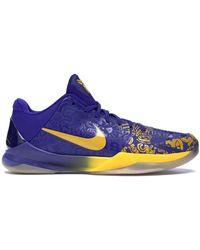 Nike Kobe 5 5 Rings (2010) - Blue