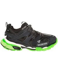 Balenciaga - Sneakers Track Glow Black/green - Lyst
