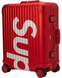 Supreme Rimowa Topas Multiwheel 45l - Red