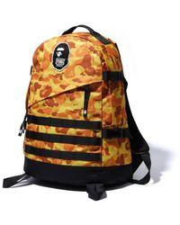A Bathing Ape X Pubg Backpack - Orange