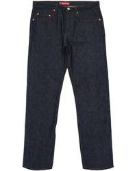 Supreme Rigid Slim Jeans - Blue