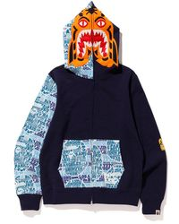 80a75451 A Bathing Ape Xxv Cities Camo Holstein Full Zip Hoodie Black/red in Red for  Men - Lyst