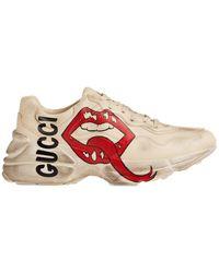 Gucci Rhyton Mouth (w) - ホワイト