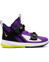 Nike Lebron Soldier Xiii Sfg Basketball Shoes - Purple