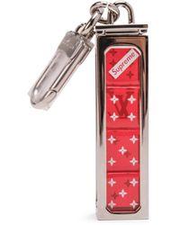 Supreme Louis Vuitton X Dice Key Chain - レッド
