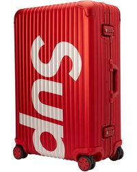 Supreme Rimowa Topas Multiwheel 82l - Red