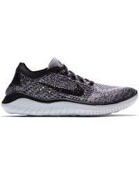 Nike Free Rn Flyknit 2018 Running Shoes - Black