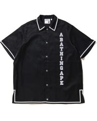 A Bathing Ape Relaxed Classic Disco S/s Shirt - Black