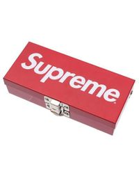 Supreme - Small Metal Storage Box Red - Lyst