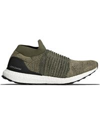 Ultra Boost Laceless Mid Trace Cargo Green