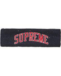 Supreme New Era Sequin Arc Logo Headband - Blue