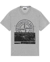 Stone Island - 2ns65 'block One' - Lyst