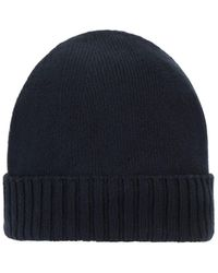 Stone Island Shadow Project N03a3 Extended Beanie - Blue