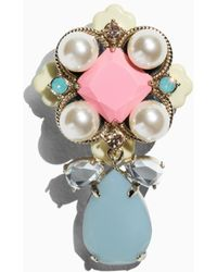 & Other Stories Pearlescent Stone Brooch - Multicolour