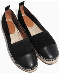 & Other Stories - Leather Toe Espadrilles - Lyst