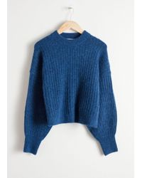 & Other Stories - Alpaca Blend Knit Sweater - Lyst