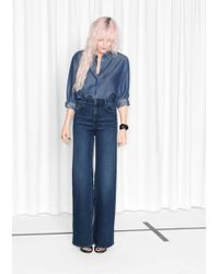 & Other Stories - Flared Denim Jeans - Lyst