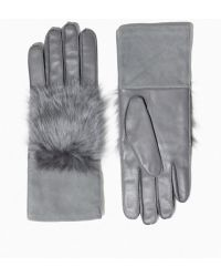 & Other Stories - Faux Fur Leather Gloves - Lyst