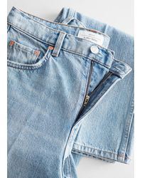 & Other Stories The Key Cut Jeans - Blue